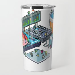 Pixel party Travel Mug