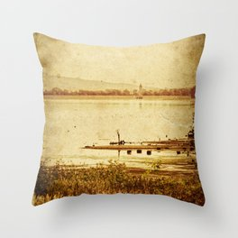 Birth of Tragedy Throw Pillow