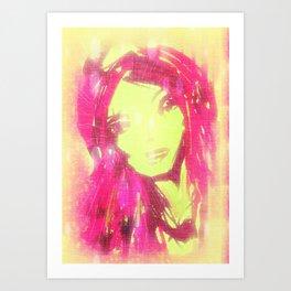 pink1 Art Print
