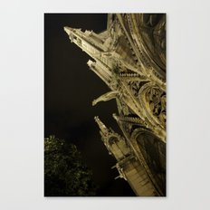 Notre Dame Cathedral II Canvas Print