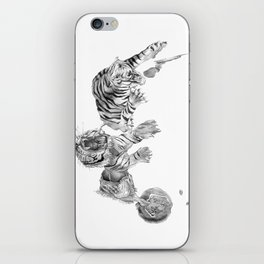 DREAM CAUSED BY THE FLIGHT OF A BEE AROUND A POMEGRANATE ONE SECOND BEFORE AWAKENING iPhone Skin