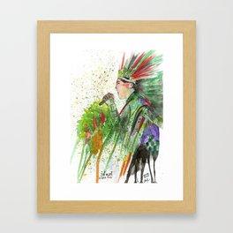 Jonsi Framed Art Print