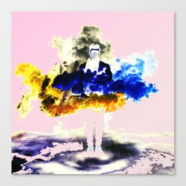 Boom Color Canvas Print