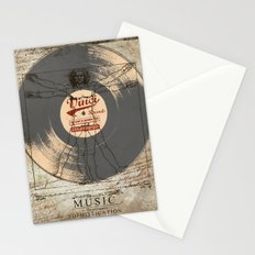 VINCI RECORD Stationery Cards
