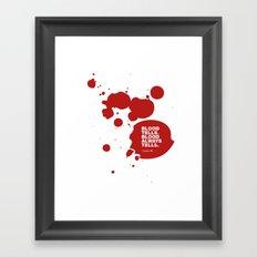 Dexter no.3 Framed Art Print