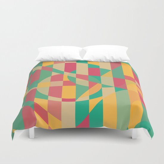 Abstract Graphic Art - Contemporary Music Duvet Cover