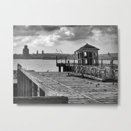 Neglected History Metal Print