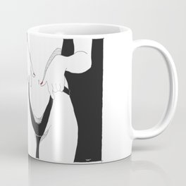 naughty girl Coffee Mug