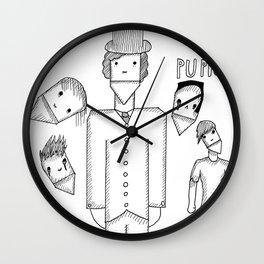 My Kid Caleb's Puppet Piece Wall Clock