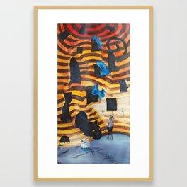 Tigres Framed Art Print