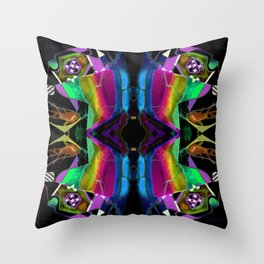 二 (Èr) Throw Pillow