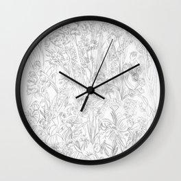 Meadow III Wall Clock