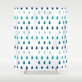 Tokyo Rain Shower Curtain