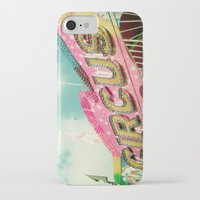circus iPhone & iPod Cases featuring Circus by Cassia Beck