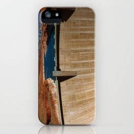 Glen Canyon Dam and Lake Powell iPhone Case