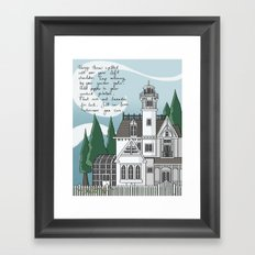 The Magic House Framed Art Print