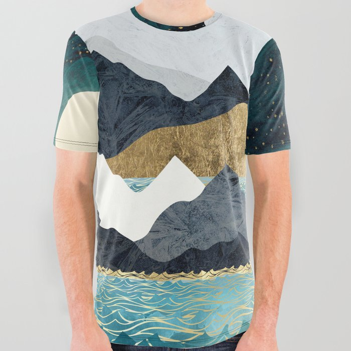 Ocean Stars All Over Graphic Tee
