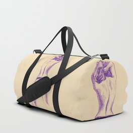 Sweet purple Duffle Bag
