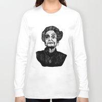 levi Long Sleeve T-shirts featuring Rita Levi by Julian R Black