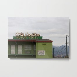 City Centre Motor Hotel Metal Print