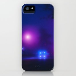Synthwave Streets (3) iPhone Case