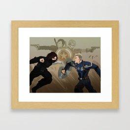 Time Skip Framed Art Print