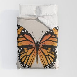 Monarch Butterfly | Vintage Butterfly | Duvet Cover