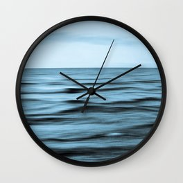 About the Sea I Wall Clock