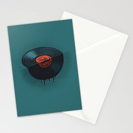 Hot Record Stationery Cards