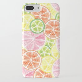 Citrus Time iPhone Case