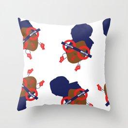 'I represent' Throw Pillow