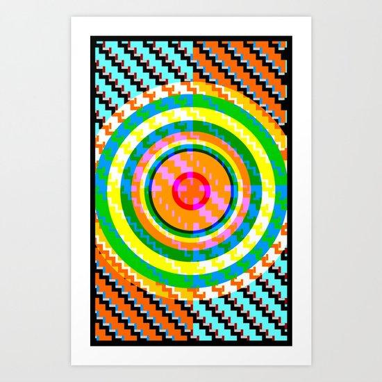 Hypnotic no.1 Art Print