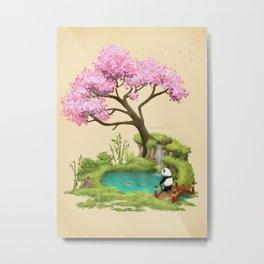Anjing II - The Zen garden Metal Print