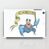 cancer iPad Cases featuring Cancer by Dan Paul Roberts