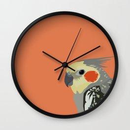 Marcus the cockatiel Wall Clock