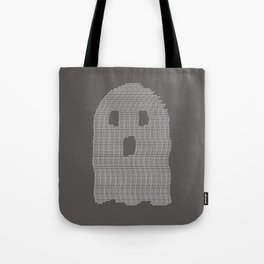 Ghost Typography Tote Bag