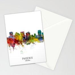 Phoenix Arizona Skyline Stationery Cards