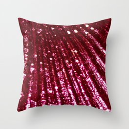 Triton´s Secrets - Pink Coral Throw Pillow