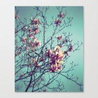 vintage flowers Canvas Prints featuring Vintage Flowers by ALP-Fotografie