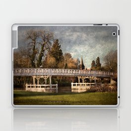 Whitchurch on Thames Toll Bridge Laptop & iPad Skin