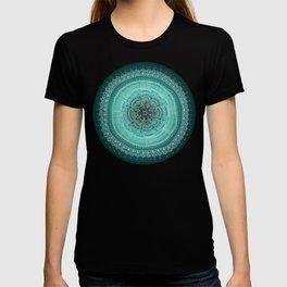 Realizing on Black Background T-shirt