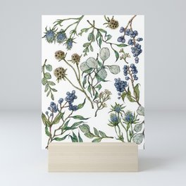 Botanical Layout Mini Art Print