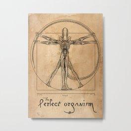 Perfect Organism Metal Print