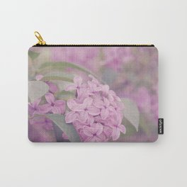 AFE Pink Lilacs Carry-All Pouch