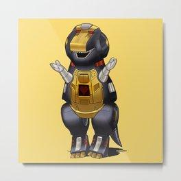 Barneybot Metal Print