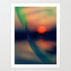 Sunset VII Art Print
