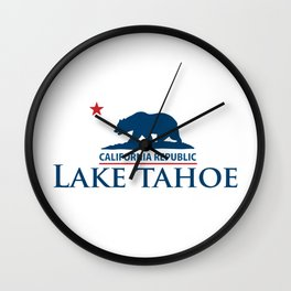 Lake Tahoe. Wall Clock