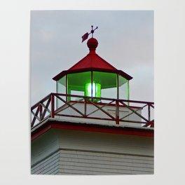Green Lantern of Wood Islands Poster