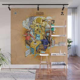 The Fantastic Craft Coffee Contraption Suite - The Fantastic Craft Coffee Contraption Wall Mural
