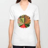 brasil V-neck T-shirts featuring Brasil by Lyle Hatch